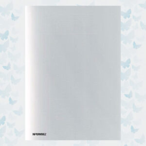 Nellie's Choice White Cutting Plate for PressBoy-pro A5 - NPBW002