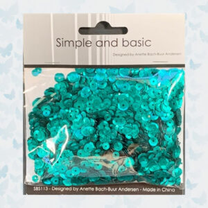 Simple and Basic Emerald Green Sequin Mix (SBS113)