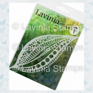 Lavinia Stencils - Tall Leaf Mask ST027