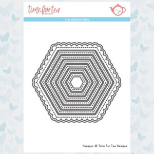 Time For Tea Hexagon Nesting Dies (T4T/125/Hex/Sta)