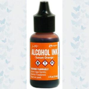 Ranger Alcohol Ink - Sunset Orange TAB25542 Tim Holz
