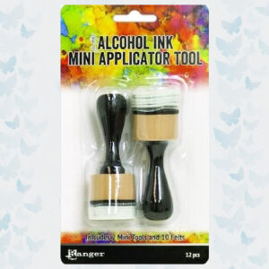 Ranger Alcohol Ink Mini Applicator Tool (2pc/10 Felts) TAC62158 Tim Holtz