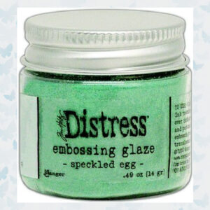Ranger Distress Embossing Glaze - Speckled Egg TDE73819