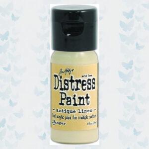 Ranger Distress Paint Flip Cap Bottle - Antique Linen TDF52906