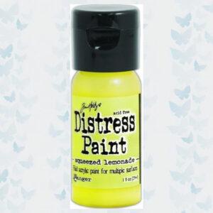 Ranger Distress Paint Flip Cap Bottle - Squeezed Lemonade TDF53293