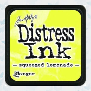 Ranger MINI Distress Ink pad - Squeezed Lemonade TDP40200