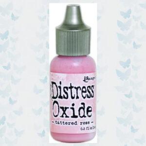 Ranger Distress Oxide Re- inker 14 ml - Tattered Rose TDR57369 Tim Holtz