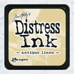 Ranger Distress Ink pad - Antique Linen TIM19497