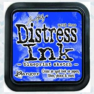 Ranger Distress Ink pad - Blueprint Sketch TIM43195 Tim Holtz