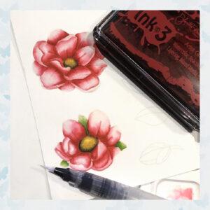 Atelier Marilyn Red - Artist Grade Fusion Ink Pad