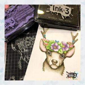 Atelier Twiggy Brown - Artist Grade Fusion Ink Pad