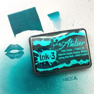 Atelier Trinity Teal - Artist Grade Fusion Ink Pad