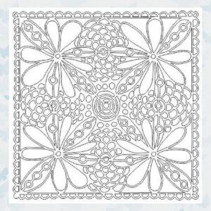 That's Crafty! Mask stencil - Floral Frenzy 104211
