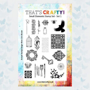 That's Crafty! Clearstamp A5 - Small Elements - Set 1 - 104772