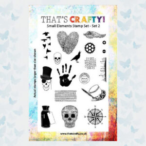 That's Crafty! Clearstamp A5 - Small Elements - Set 2 - 104773