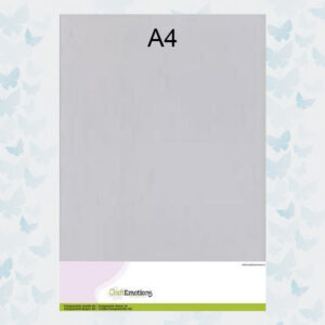 CraftEmotions Transparante Sheets A4