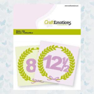 CraftEmotions Die - Jubileum 115633/0823