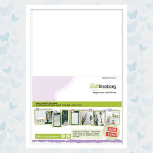 CraftEmotions EasyConnect A5 Craft Sheet 119491/0005