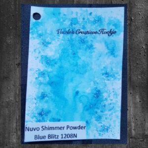 Nuvo Shimmer powder - Blue Blitz 1208N
