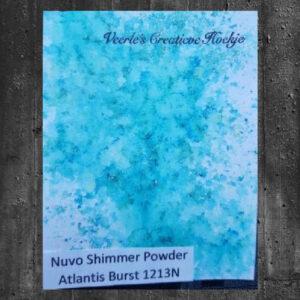 Nuvo Shimmer powder - Atlantis Burst 1213N