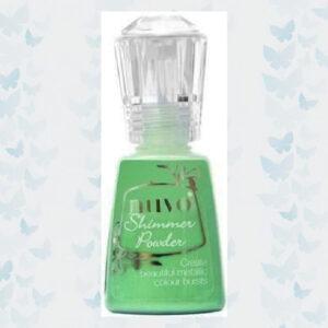 Nuvo Shimmer powder - Green Parade 1214N