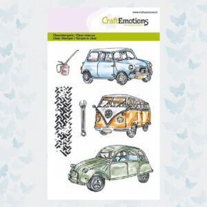 CraftEmotions Clear Stempels - Classic Cars 130501/1279