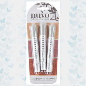 Nuvo glitter markers - Moroccan Sunset 167N
