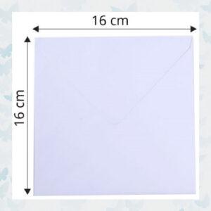Florence Enveloppen 120g/16x16cm
