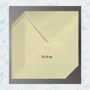 Le Suh Enveloppen Vierkant - Wit 14x14cm
