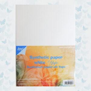 Joy! Crafts Synthetisch Papier Wit 8011/0702 Yupo - 5vl - A4 - 234gr