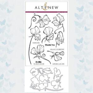 Altenew Sweetest Peas Stamp & Die Bundel ALT2340