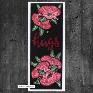 Altenew Mini Delight: Poppy Stamp & Die Set ALT4789