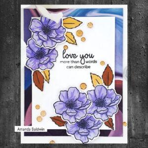 Altenew Mini Delight: Winsome Bloom Stamp & Die set ALT6085