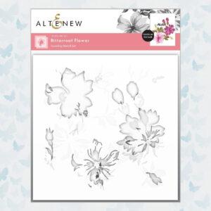 Altenew Bitterroot Flower Layering Stencil ALT6111