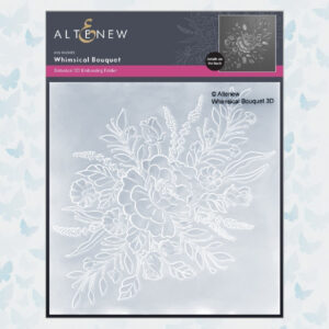 Altenew 3D Embossing Folder Whimsical Bouquet ALT6210