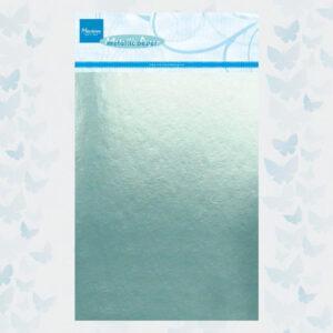 Marianne Design Metallic Papier - Mint CA3140 / 5 Vellen - A5
