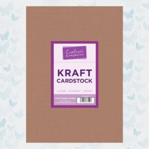 Crafter's Companion Kraft Cardstock 50xA4 (CC-KRAFT)