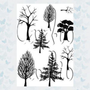 Card-io Clear Stempels Woodland Walks