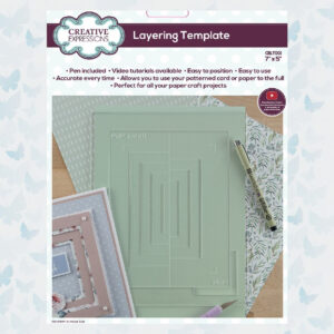Creative Expressions Layering Template 17.7x12.7cm