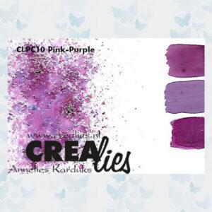 Crealies Pigment Colorzz Poeder Paars-Rose CLPC10