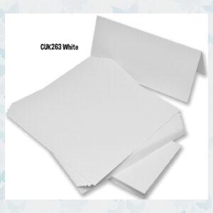 Craft UK Cards & Envelopes DL White (CUK263)