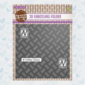 Nellies Choice 3D Emb. folder Streeppatroon-1 EF3D024