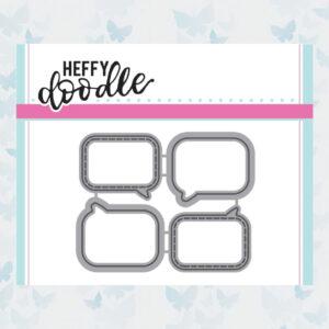 Heffy Doodle Whatcha Sayin' Snijmallen (HFD0038)