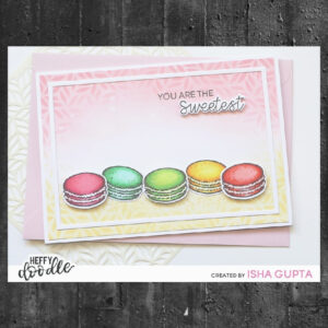 Heffy Doodle Sweet Stuff Clear Stamps (HFD0270)