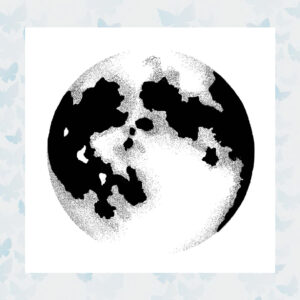 Lavinia Clear Stamp Moon LAV431