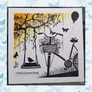 Majestix Clear Stamps Bees and Butterflies