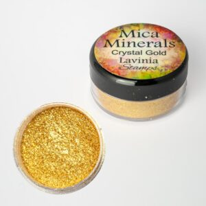 Lavinia Stamps Mica Minerals - Crystal Gold