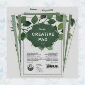 Piatek13 - Stamping/Creative Pad Leaves 10x15 cm P13-MIS-20 / 24 Vellen / 240grs