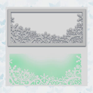 Polkadoodles Snowflake Stencil (PD8095)