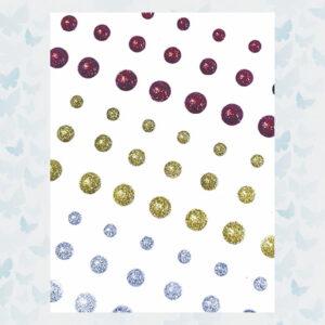 Pure & Simple Glossies Glitter Dots - Sugar Berries PS-GLOS-012